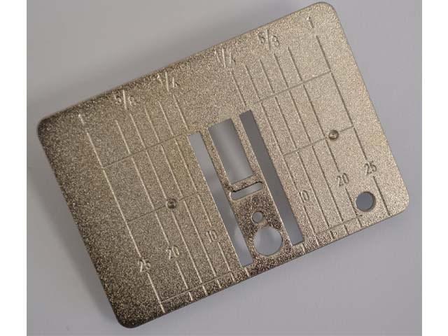 BERNINA Stichplatte Standard/Inch clip on  153 - 170