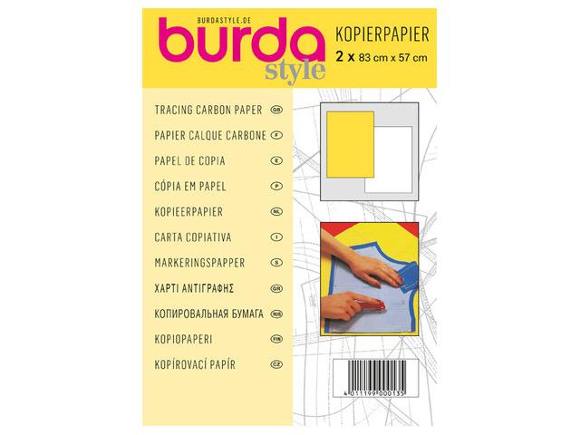 Kopierpapier weiß/gelb 83cm x 57 cm