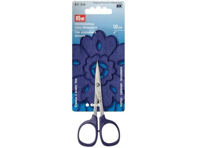 Prym PROFESSIONAL Stickschere fein 4 10 cm