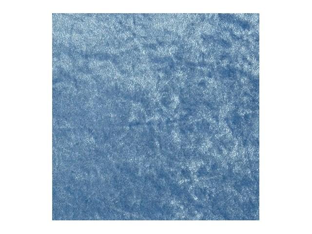 Pannesamt Eisblau