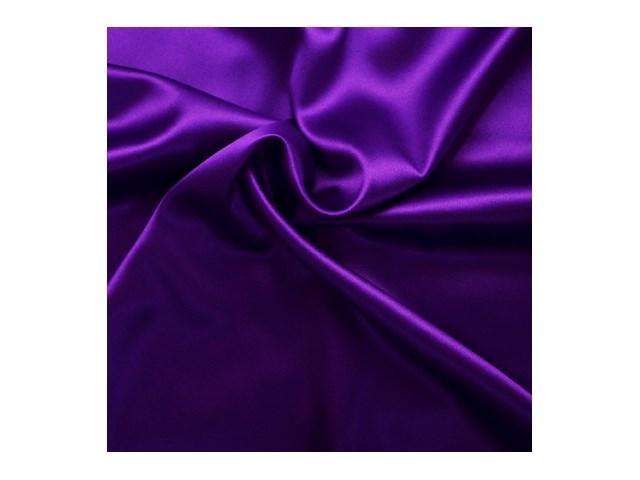 Seiden Satin Stretch Violett