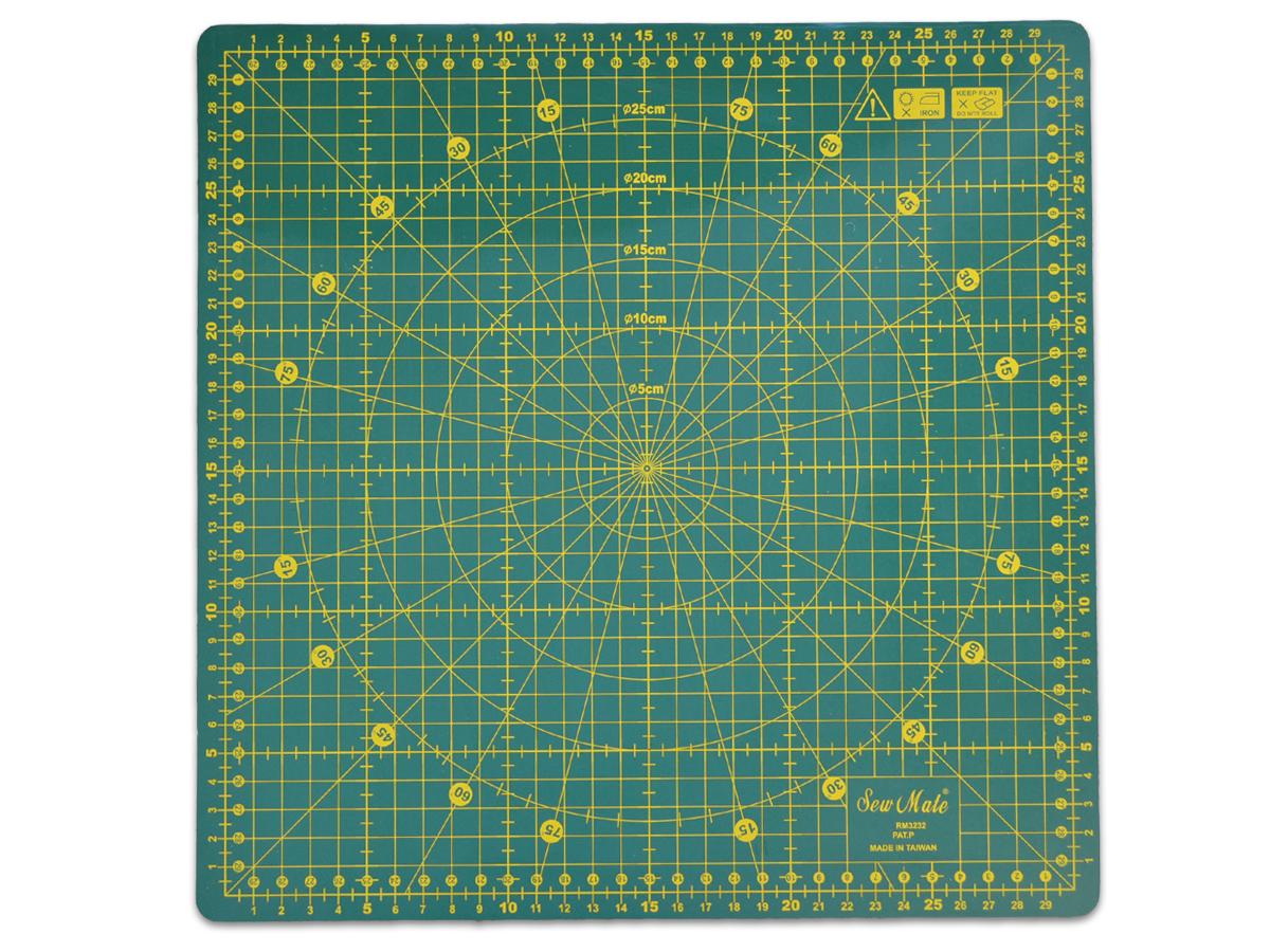 Sew Mate Schneidematte 360° rotierend 32x32