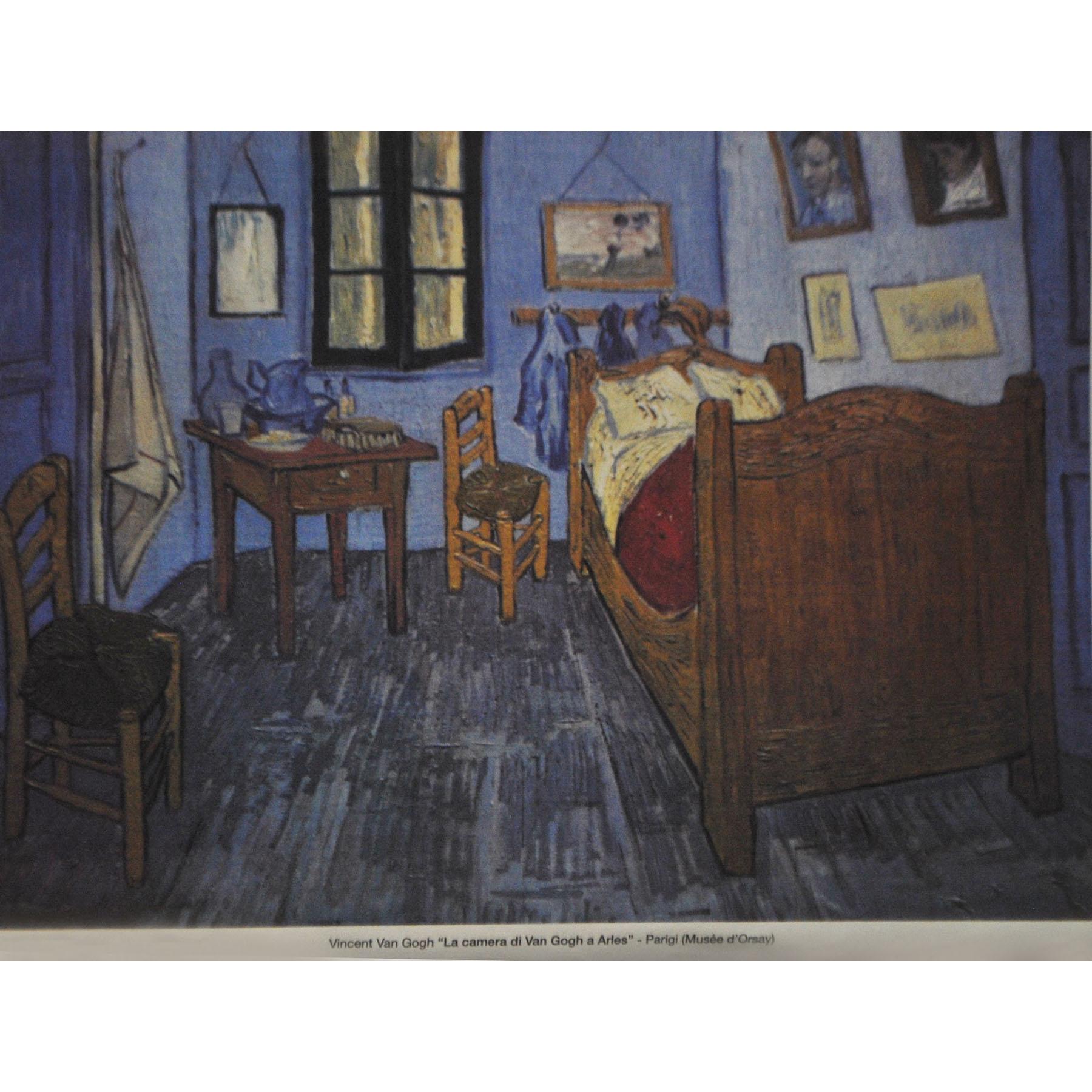 Maler Panneaux 130 x 94 cm - La camera di Van Gogh a Aries