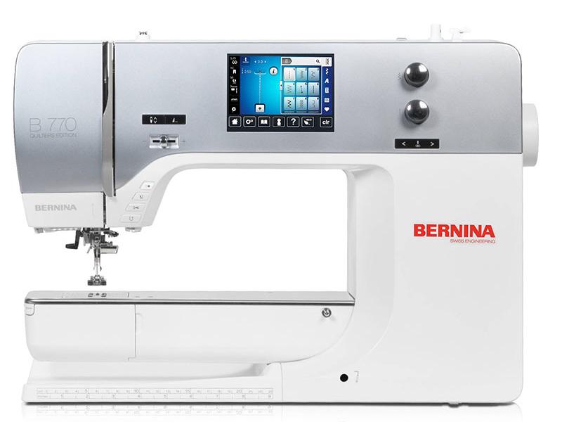 Bernina 770 QE Ausstellungsmaschine