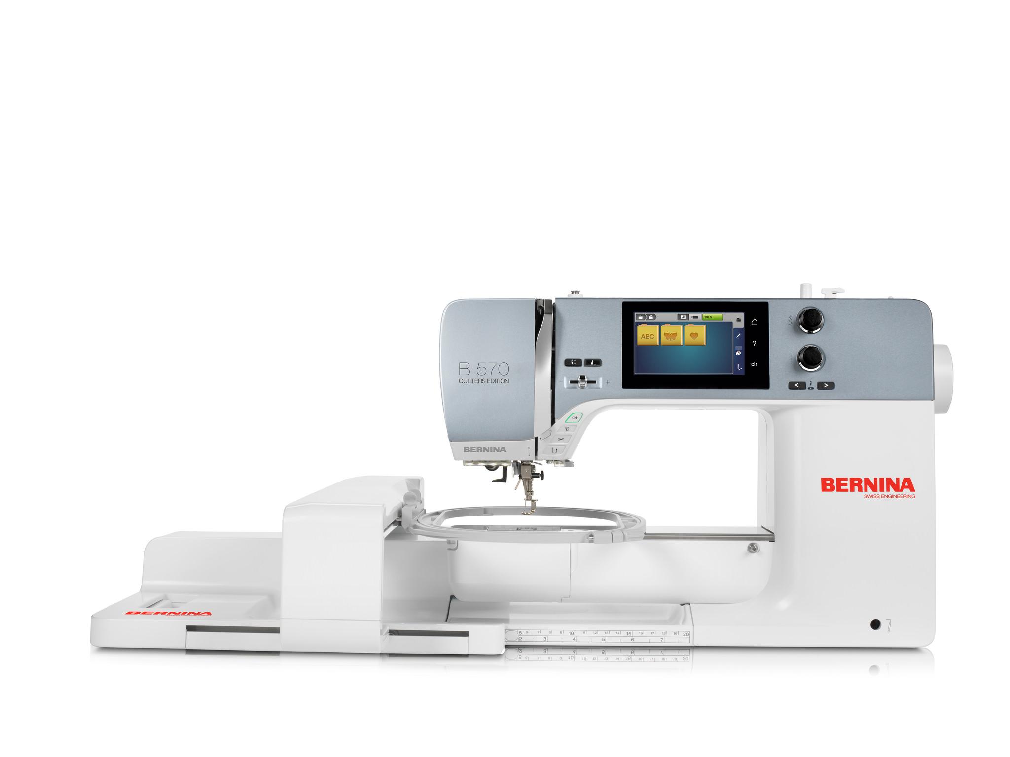 Bernina B570 QE - inkl. Stickmodul