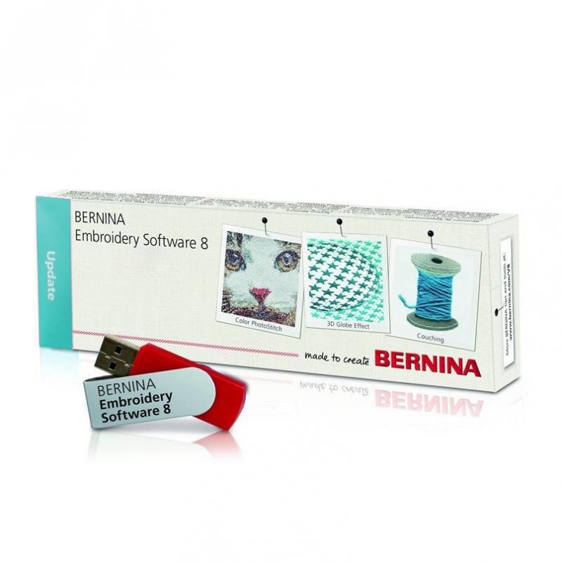 Bernina Sticksoftware UPDATE DesignerPlus 8