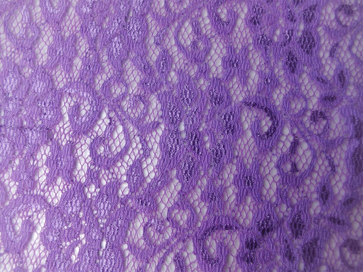 Elastik-Spitze lila