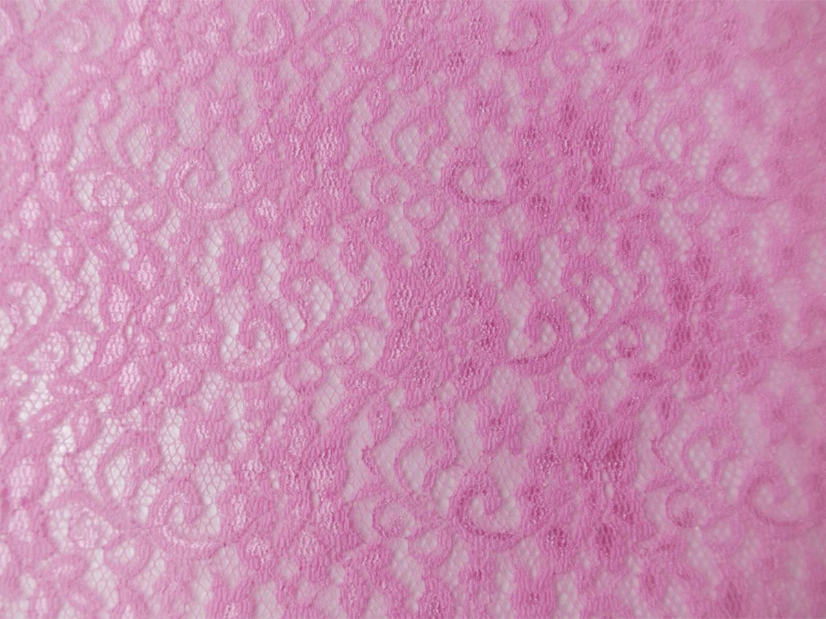 Elastik-Spitze rosa
