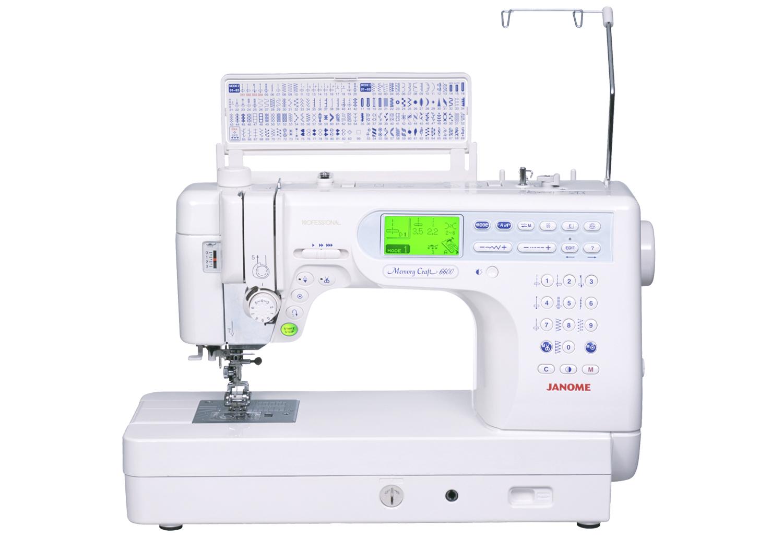 Janome 6600 MC P