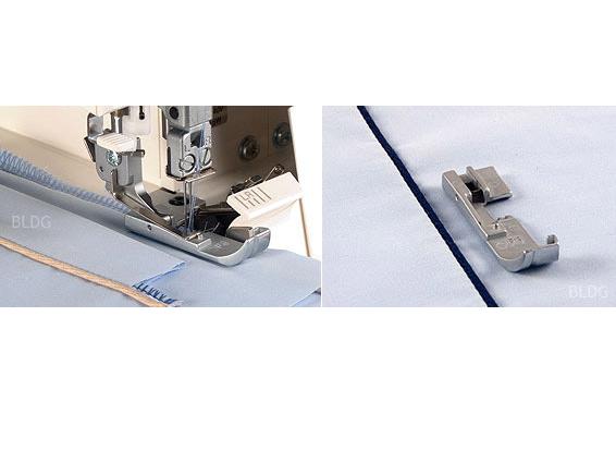 baby lock Paspelfuß f. 3mm Overlock