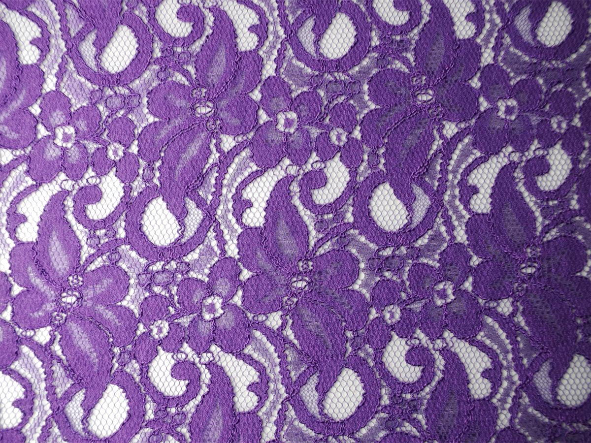 Viskose-Spitze lila