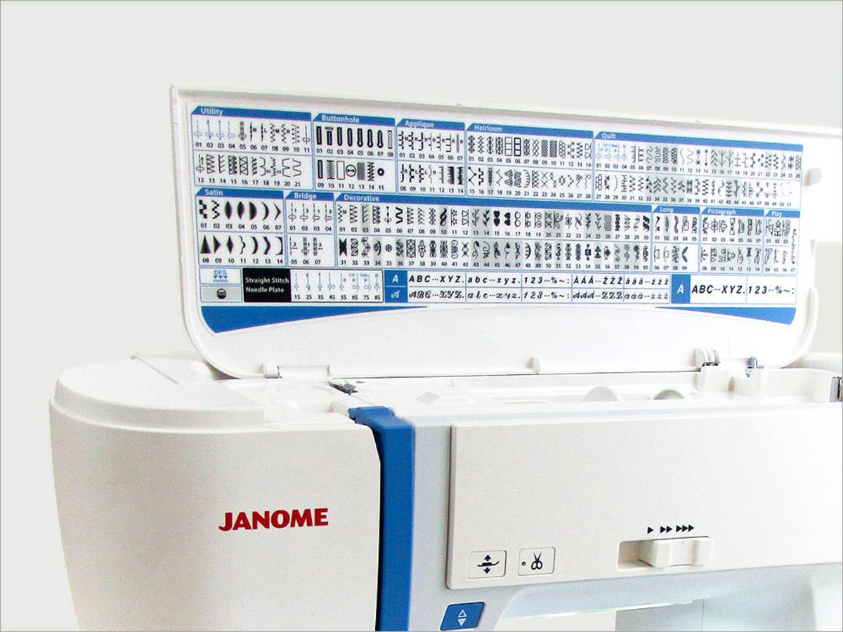 Janome Skyline S7 Ausstellungsmaschine