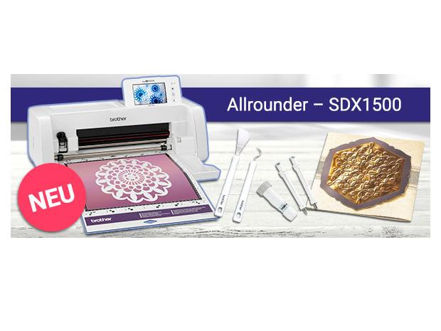 brother ScanNCut SDX1500 Schneideplotter mit Scanner