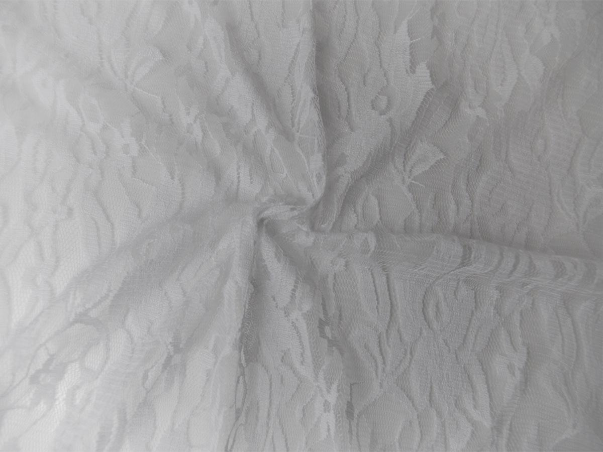 Elastik-Spitze weiß