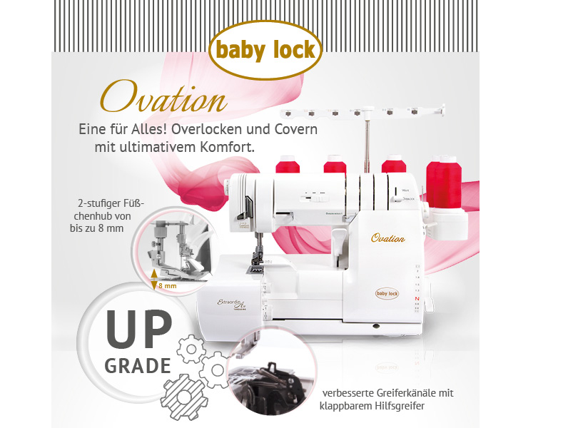 baby lock Ovation Overlock + Cover BLE S8