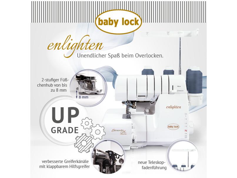 Baby Lock Enlighten Special Edition (mit Geschenkbox) 3ATW-2 SE