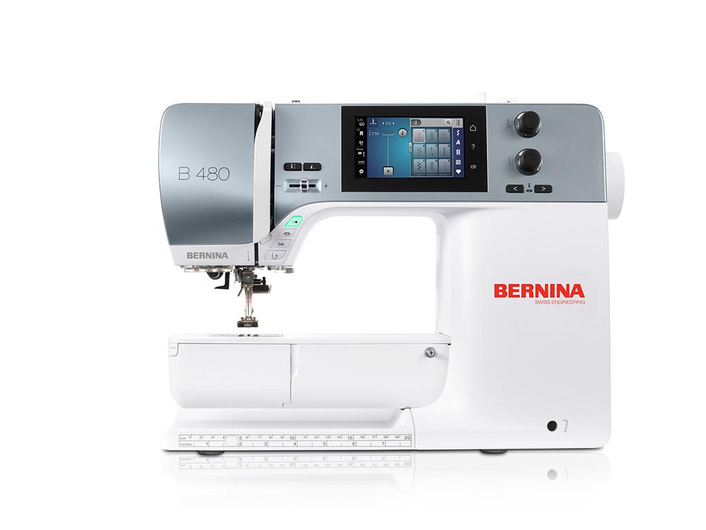 Bernina B 480 Sommer-Angebot - inkl. Garnbox